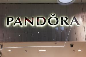 Litere luminoase Pandora
